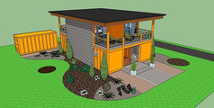 庭院集装箱改造