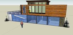 现代式集装箱改造建筑