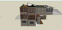 老式集装箱改造建筑