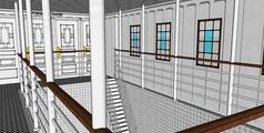 集装箱内部设计模型