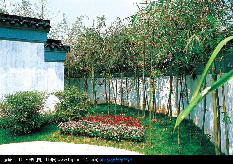 相关素材 庭院景观草坪景墙别墅景观吐水水景跌水景观小品景观雕塑木