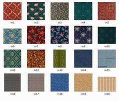 20张满铺地毯贴图