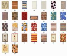 30张现代地毯贴图
