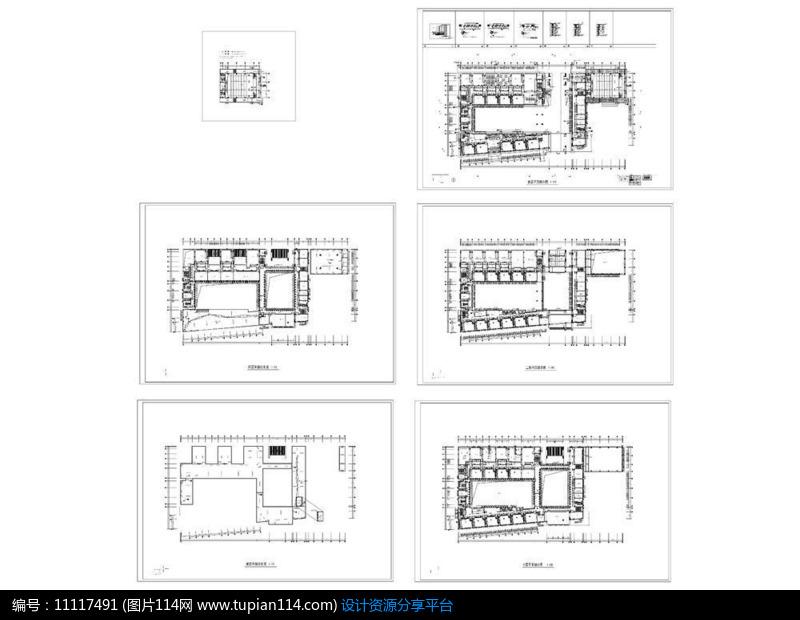 [原创] 某小学教学楼平面图