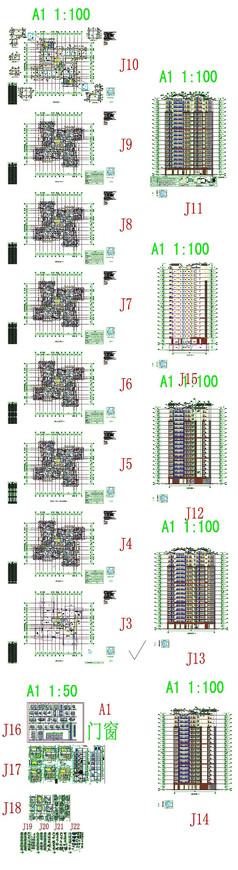 楼盘建筑CAD图纸