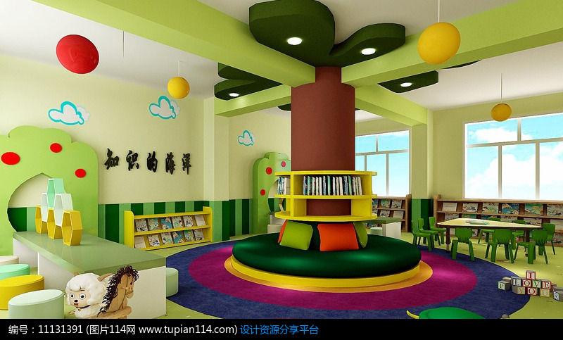 [原创] 绿色森林主题幼儿园