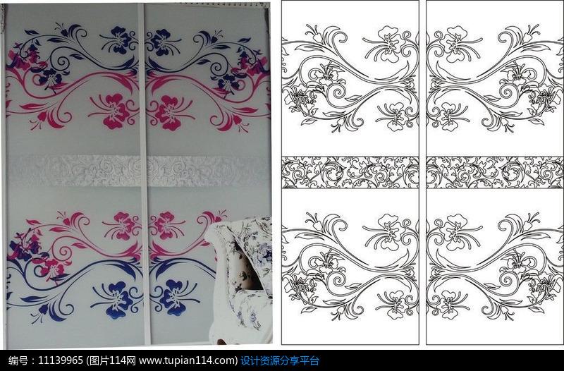 [原创] 欧式花纹对称雕刻图案