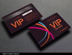 时尚VIP会员卡设计模板