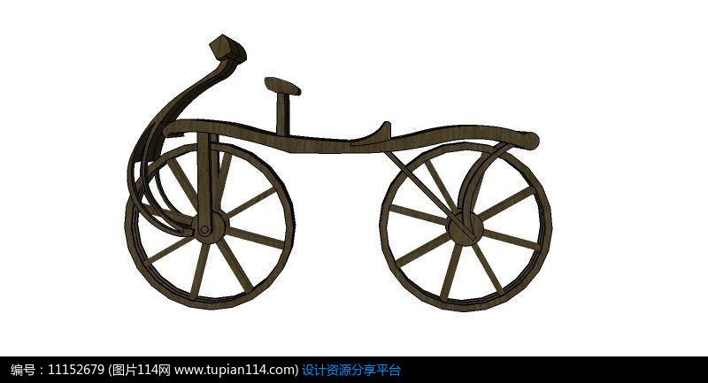 自行车雕塑