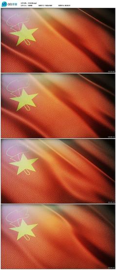 中国少年先锋队队旗高清视频素材
