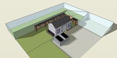 农业温室SU模型