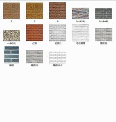 砖墙3d贴图材质13款