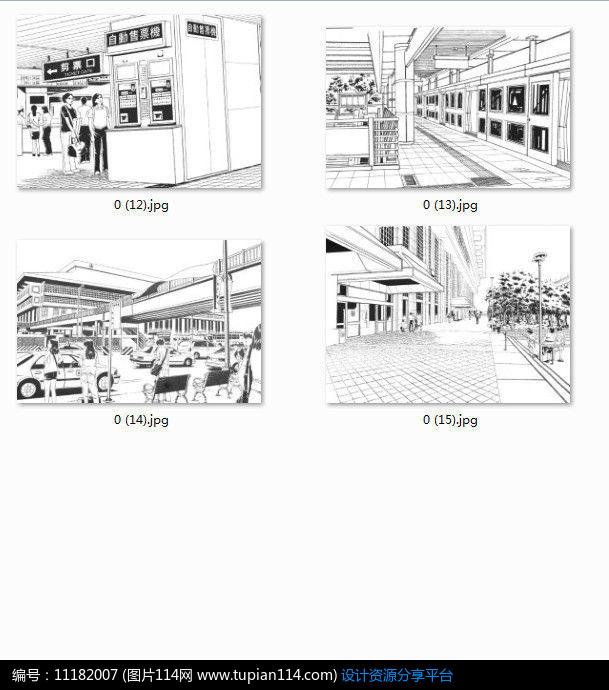 相关素材 景观设计建筑设计建筑立面建筑手绘黑白线稿白庙特色手法