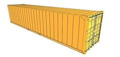 橘色集装箱