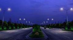 景观亮化路灯照明设计