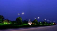 景观亮化城市绿化带照明设计