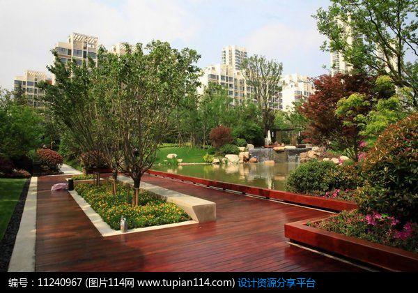 3d素材 方案意向 铺装 小区景观平台     素材编号:11240967 素材格式