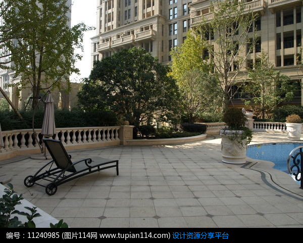 3d素材 方案意向 铺装 欧式住宅景观铺地     素材编号:11240985 素材