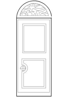 门CAD样式