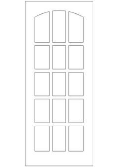 门样式图块