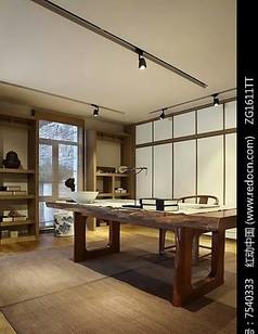 典雅中式书房