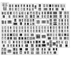 255种门立面样式CAD图集