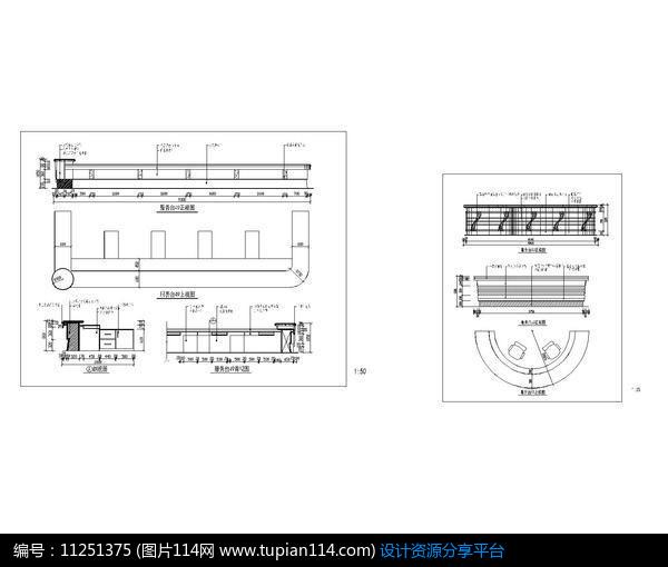 弧形服务台CADcad20102012图片