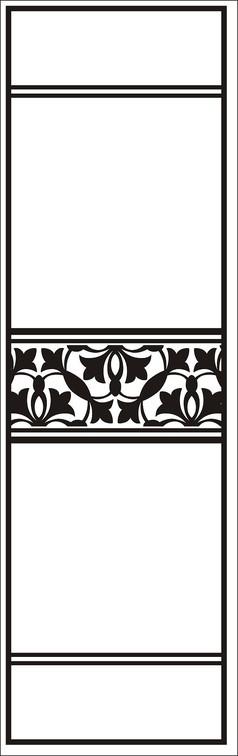 条纹门图雕刻图案
