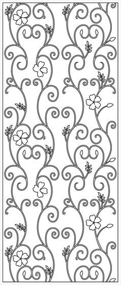 铁花雕刻图案