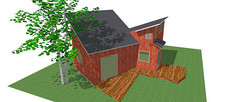紅木度假木屋