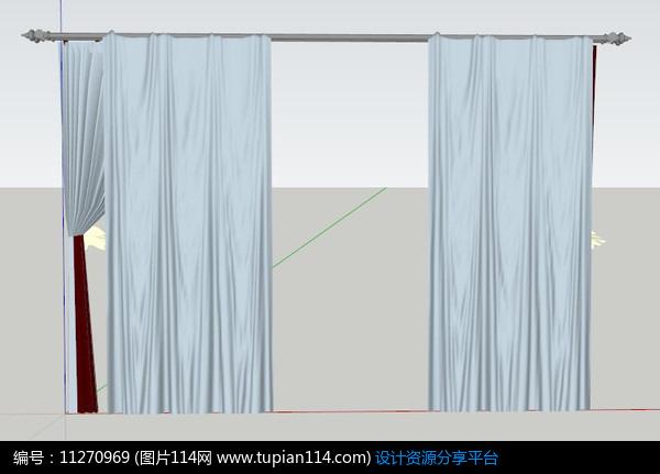 3d放样窗帘步骤