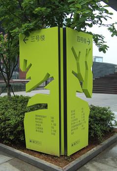 宁波水街商业广场指示牌