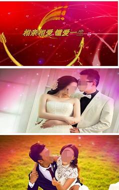 会声会影唯美温馨婚庆婚礼视频模板