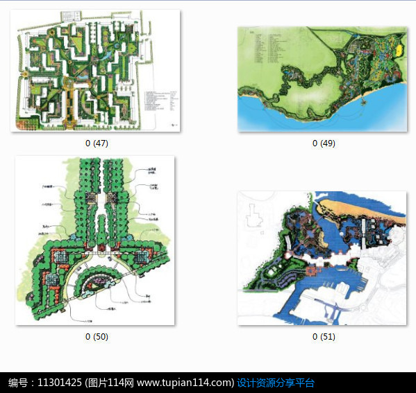 [原创] 住宅设计手绘平面图