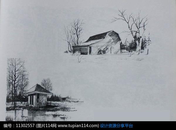[原创] 特色构筑物景观手绘