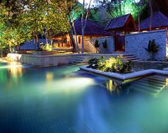 东南亚别墅酒店特色景观意向图