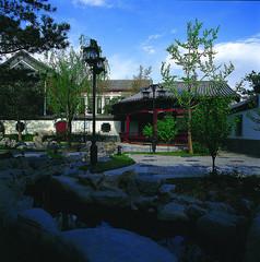特色中式别墅景观意向图