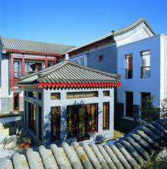 中式亭子景观意向图