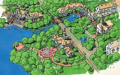 绿色现代庄园景观