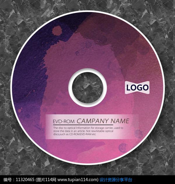 相关素材 暗红色摇滚音乐光盘cd包装cd包装设计cd封面设计cd光盘模板