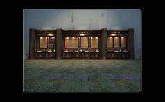 武夷山祠堂(精品柜)展示柜