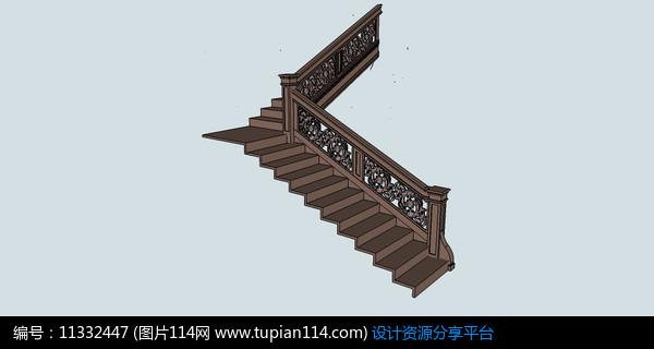 [原创] 欧式扶手楼梯