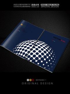 抽象高尔夫球封面设计