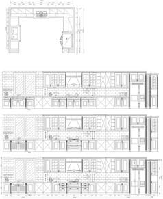 橱柜展厅橱柜设计图纸