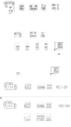 整体橱柜设计图纸