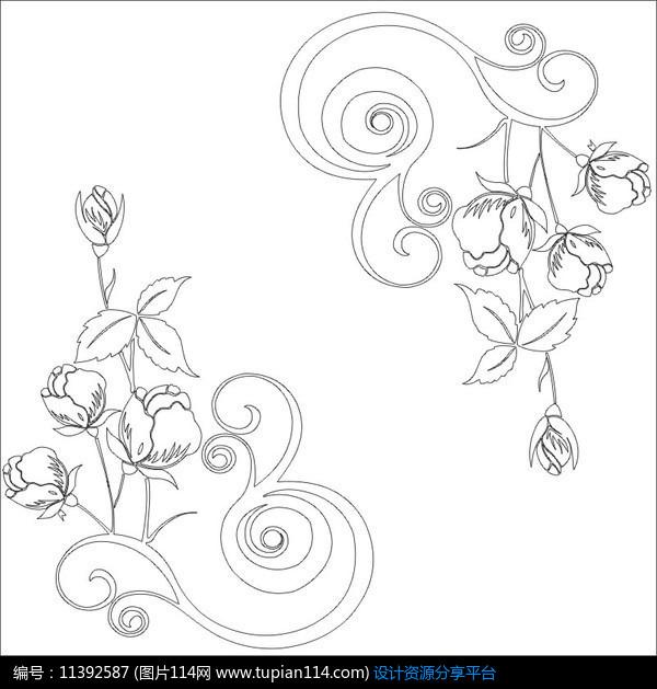 简笔画 设计 矢量 矢量图 手绘 素材 线稿 600_629