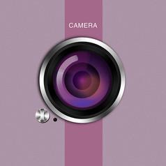 镜头素材镜头图标