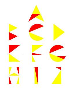 英文字母变形系列