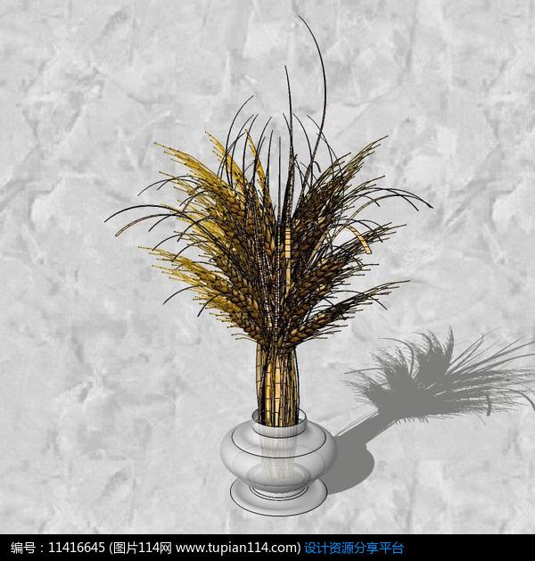 玻璃花瓶,3d室内模型免费下载,3dmax室内设计模型免费