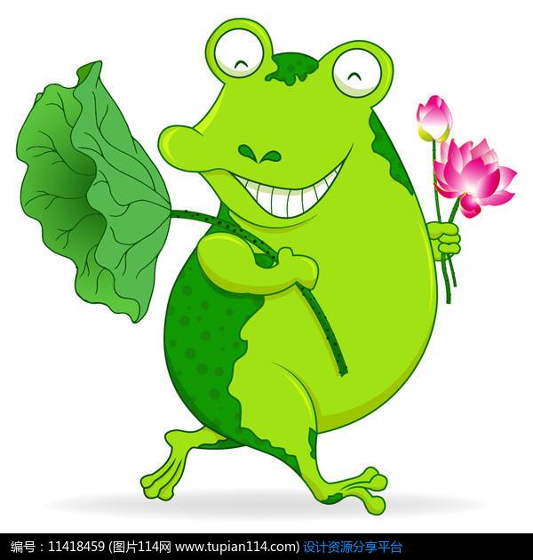 [原创] 卡通青蛙插画